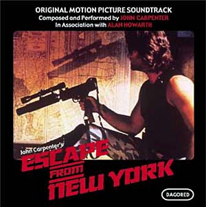 Escape From New York vinly LP OST