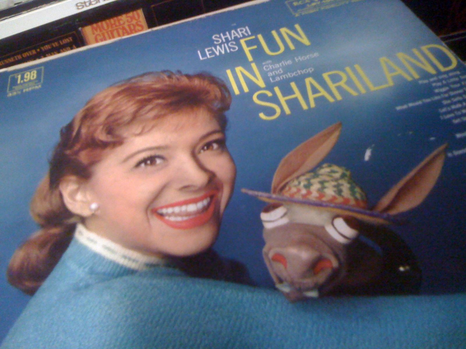 shari lewis vinyl LP