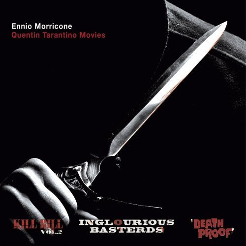 Ennio-Morricone-Quentin-Tarantino-Trilogy soundtrack CD Kind of Blue Records