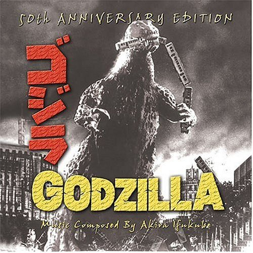 Godzilla 50th Anniversary Edition Soundtrack Cd Turntabling