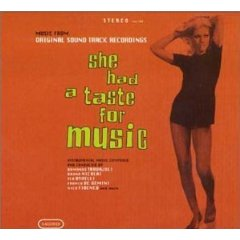 she had a taste for music CD morricone armando trovajoli bruno nicolai nico fidenco