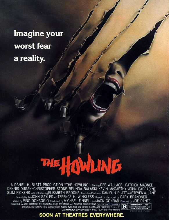 the howling original soundtrack pino donaggio