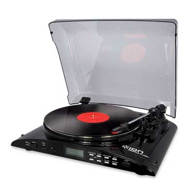 Ion Profile Flash LP to SD Turntable