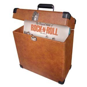 Crosley Vinyl Record Album Crate LP storage