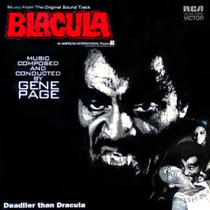Blacula vinyl LP soundtrack for sale Horror movies