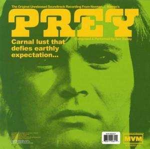Prey original soundtrack LP vinyl