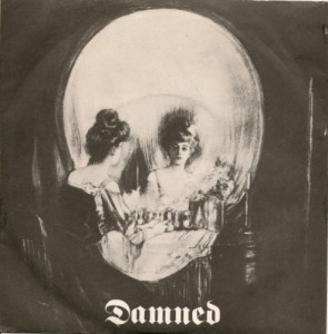 Damned Stretcher Case Baby_Sick of Being Sick  7 inch sleeve Stiff Records 1977