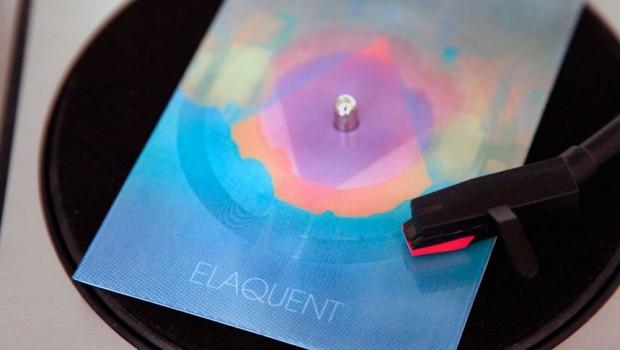 Elaquent Square Vinyl Postcard