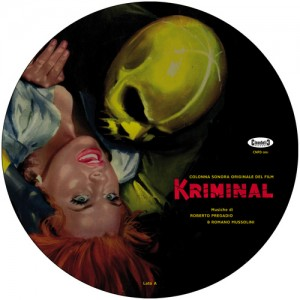 Kriminal Soundtrack 12-Inch Picture Disc for sale