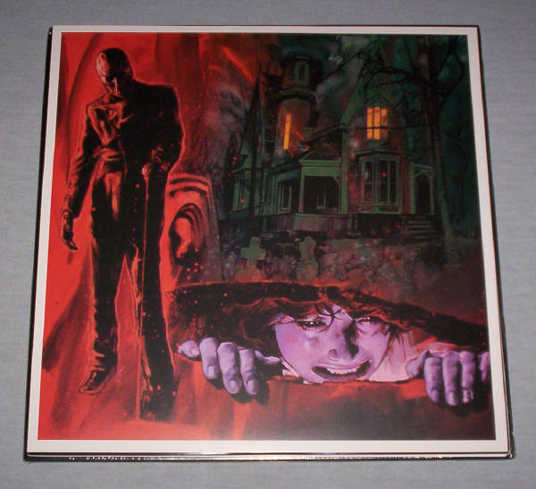 House By The Cemetery Fulci red vinyl for sale