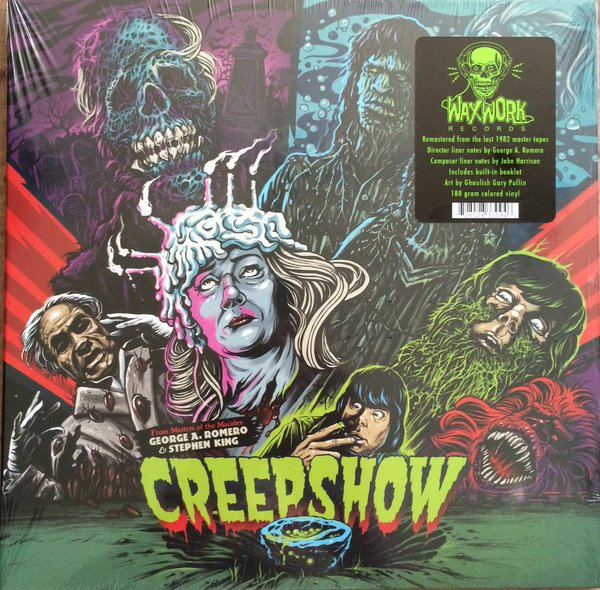 Creepshow Blue Vinyl For Sale Turntabling