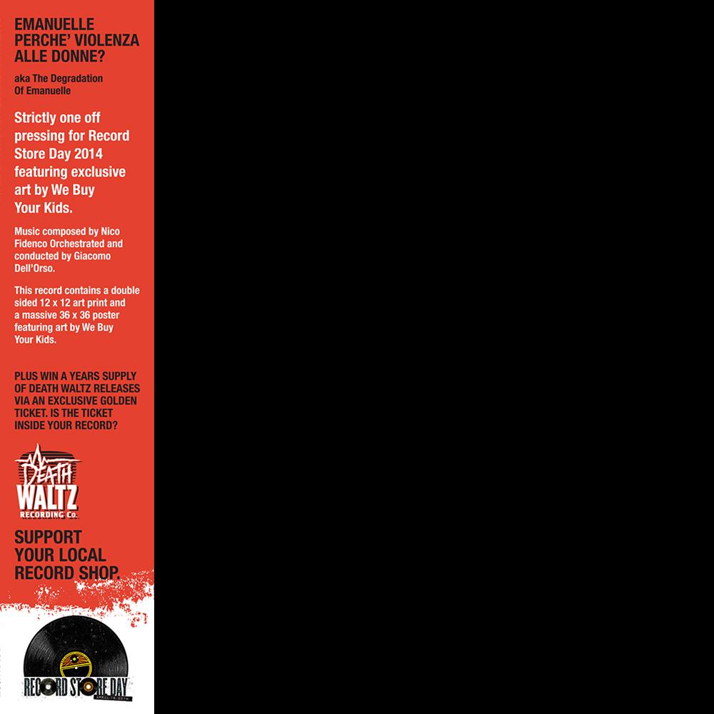 Death Waltz Records Violation of Emanuelle