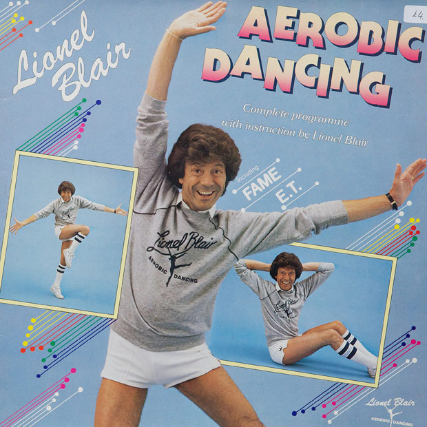 Lionel Blair Aerobic Dancing WTF album covers