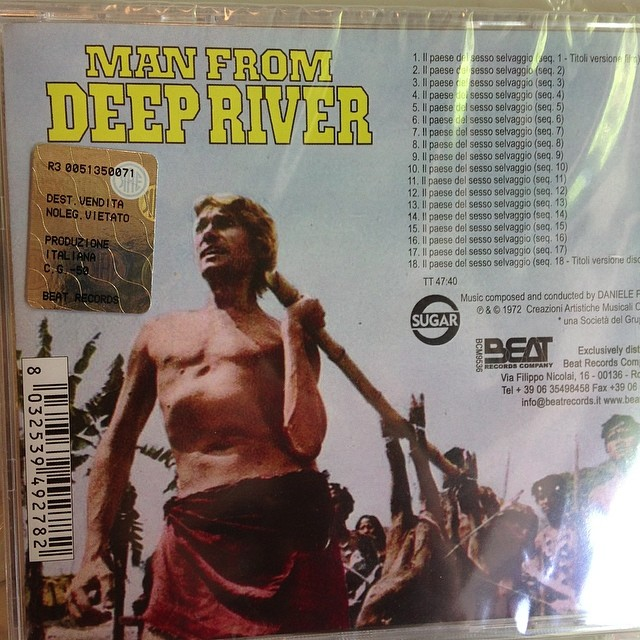 Man From Deep River Soundtrack CD