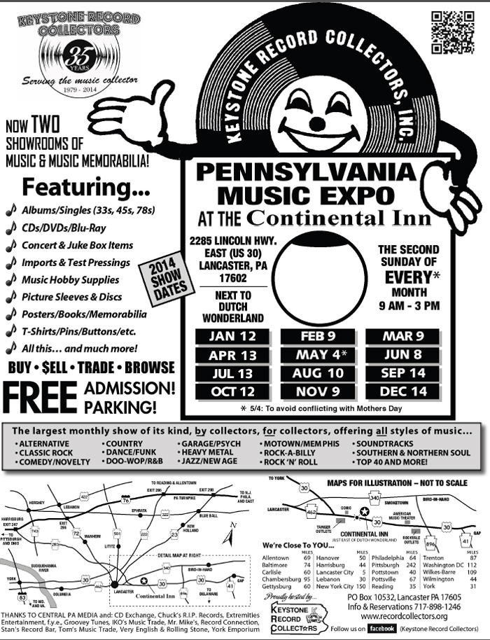 Pennsylvania Music Expo record show