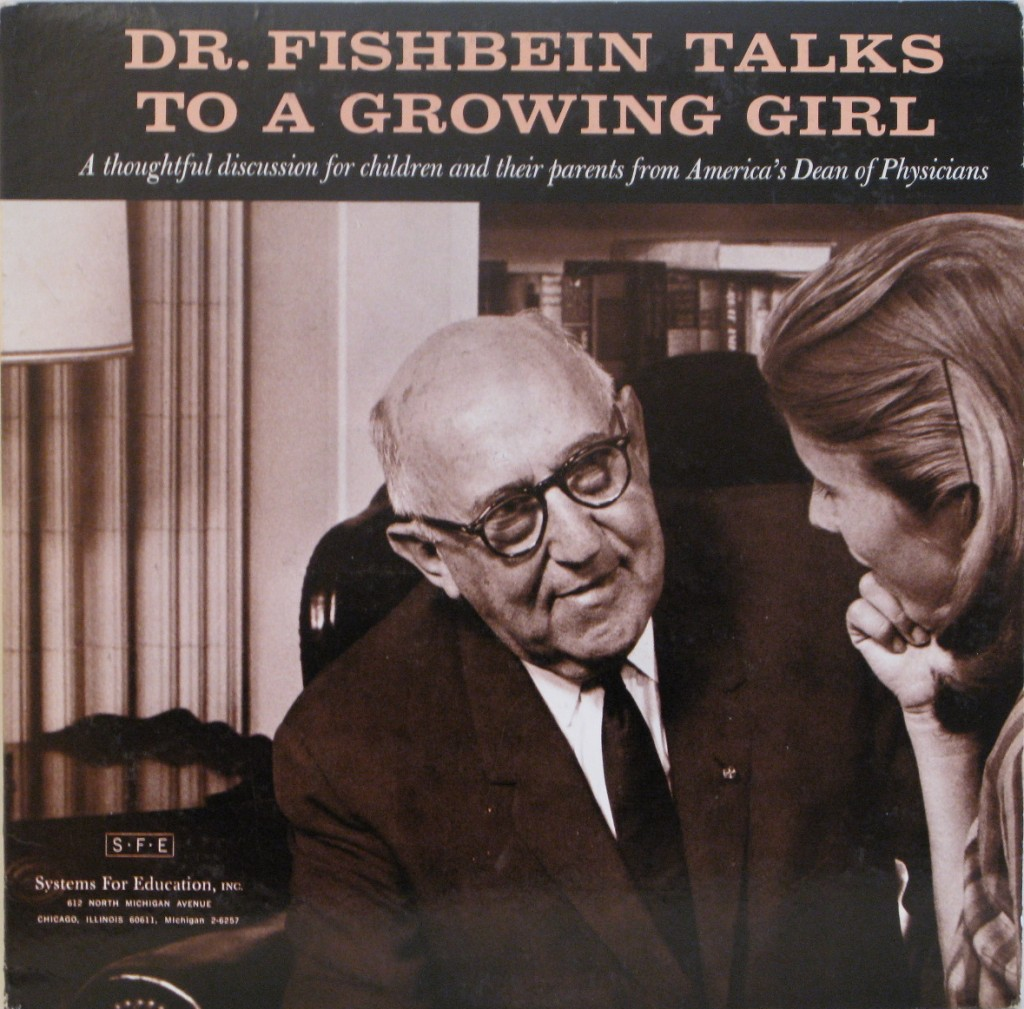 Bad album covers Doctor Fishbein Talks To A Growing Girl