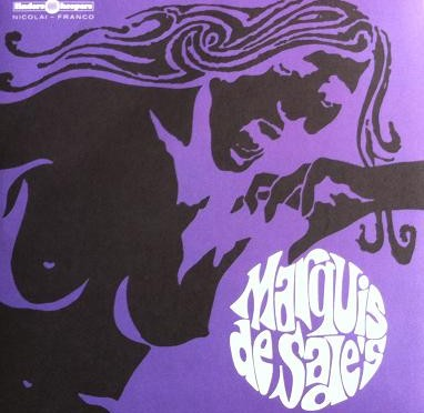 Bruno Nicolai Marquis De Sade 70 vinyl