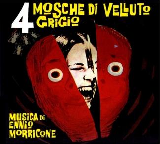 Morricone Four Flies on Grey Velvet Soundtrack Vinyl
