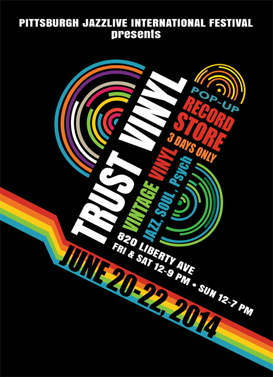 Trust vinyl pop up record store pittsburgh