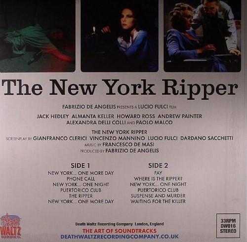 Lucio Fulci New York Ripper Soundtrack