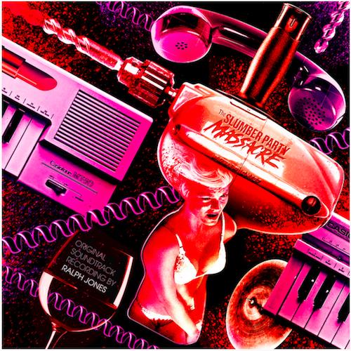 The Slumber Party Massacre soundtrack vinyl record
