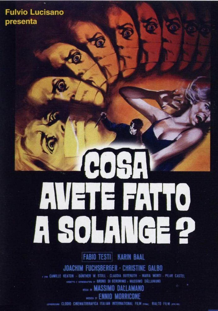 Giallo soundtracks What Have You Done To Solange
