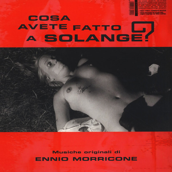 Italian Horror soundtracks Solange