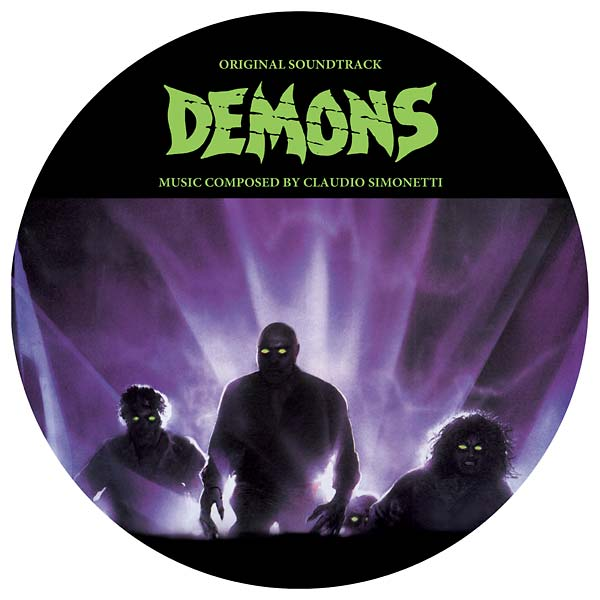 Demons soundtrack on vinyl picture disc limited edition