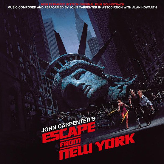 Escape From New York Vinyl Record soundtrack